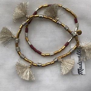 Madewell bracelet set